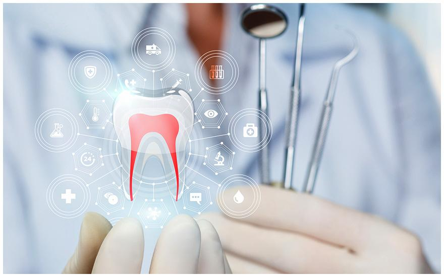 stomatolog iikona zęba